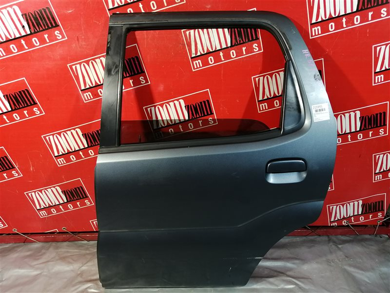 Дверь боковая Suzuki Chevrolet Cruze HR52S M13A 2000 задняя левая серый
