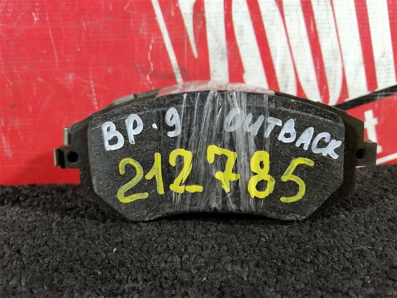Колодки тормозные Subaru Legacy Outback BP9 EJ25 передние