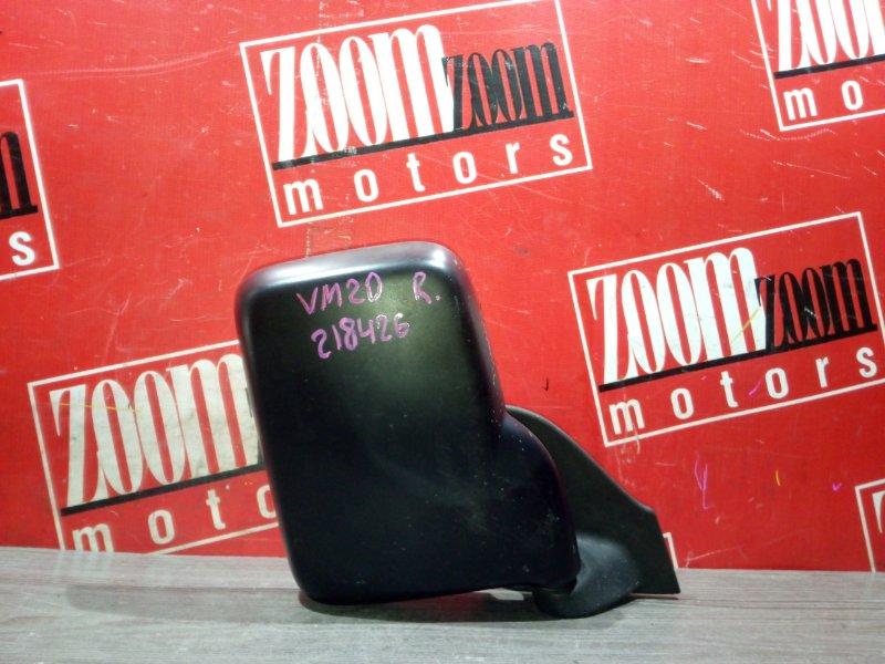 Зеркало боковое Nissan Nv200 VM20 HR16DE 2009 переднее правое черный