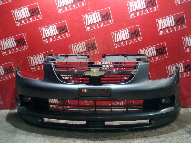 Бампер Suzuki Chevrolet Cruze HR52S M15A 2005 передний серый