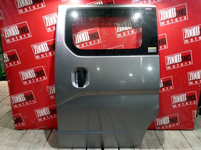 Дверь боковая Nissan Nv200 VM20 HR16DE 2009 задняя левая серый