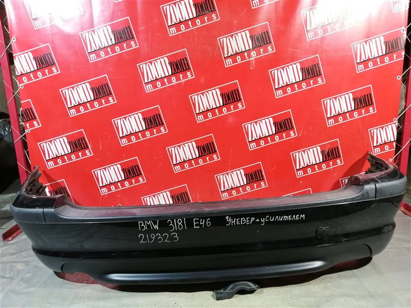Бампер Bmw 318 E46 2002 задний черный