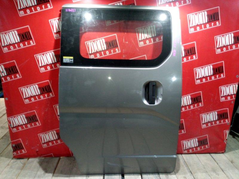 Дверь боковая Nissan Nv200 VM20 HR16DE 2009 задняя правая серый
