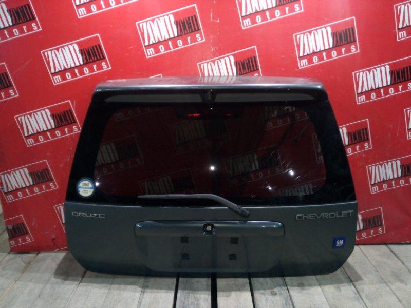 Дверь задняя багажника Suzuki Chevrolet Cruze HR52S M15A 2002 задняя серый