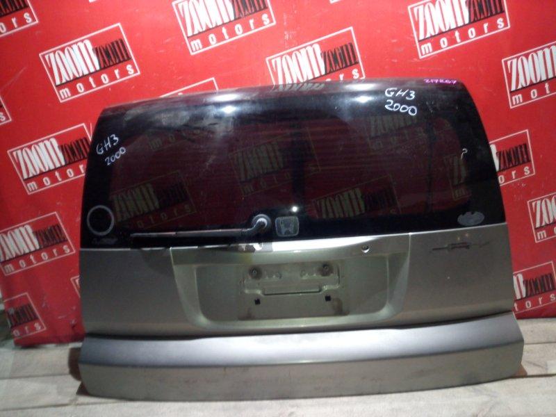 Дверь задняя багажника Honda Hr-V GH3 D16A 1998 задняя серый
