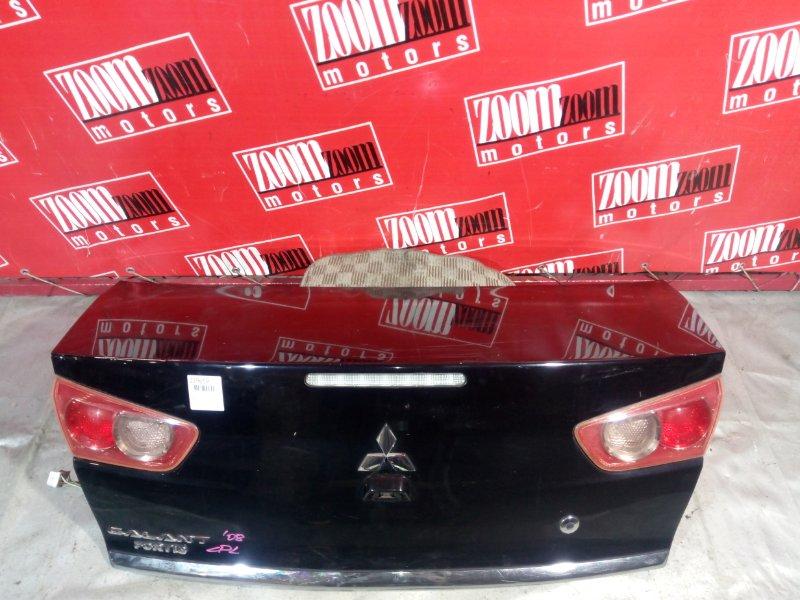 Крышка багажника Mitsubishi Lancer X CY4A 4B11 2006 задняя черный