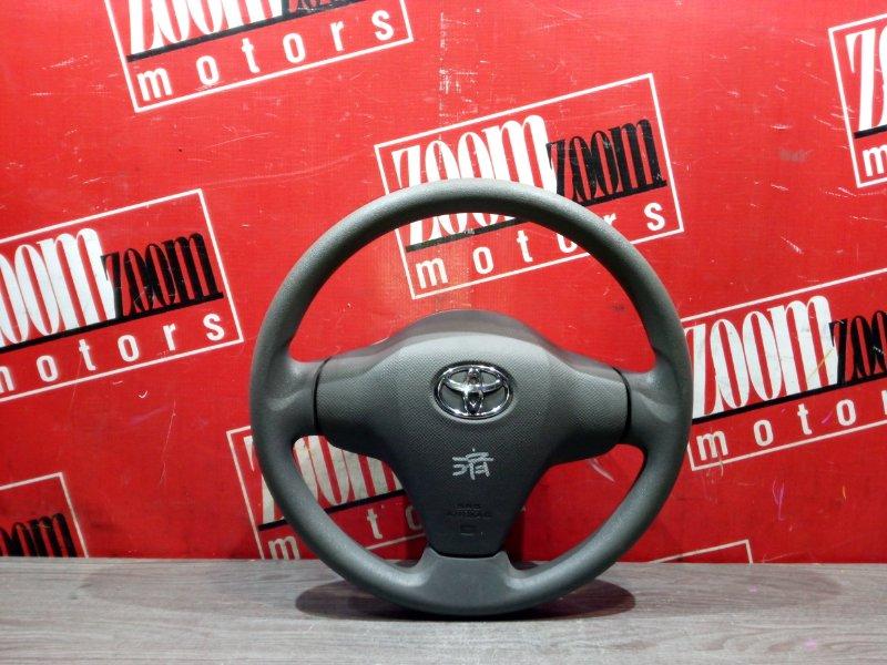 Руль Toyota Vitz KSP90 1KR-FE 2005 передний серый