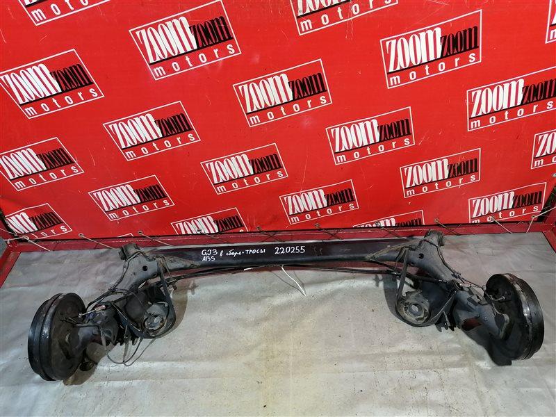 Балка поперечная Honda Partner GJ3 L15A 2005 задняя