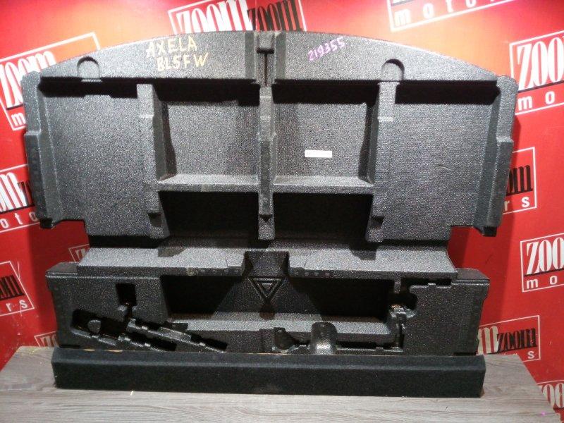 Накладка багажника Mazda Axela BL5FW ZY-VE 2009 задняя