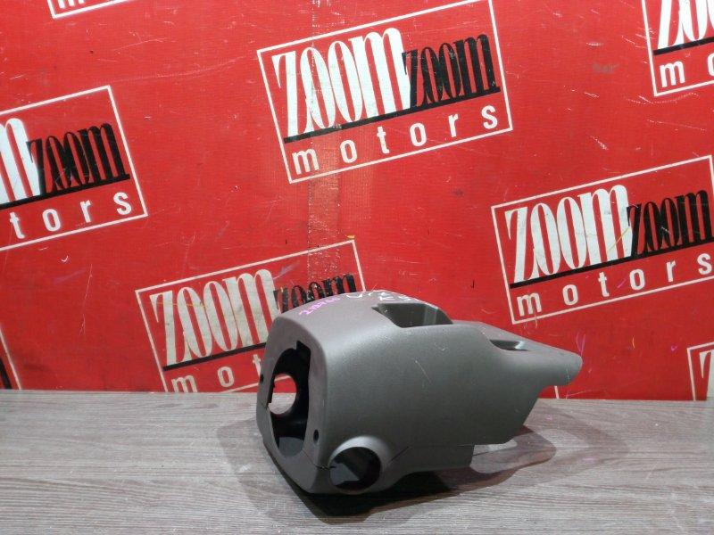 Кожух рулевой колонки Toyota Vitz KSP90 1KR-FE 2005 передний серый