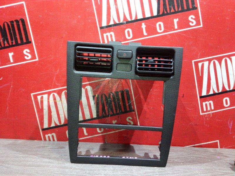 Рамка (консоль магнитофона) Toyota Caldina ST215 3S-GTE 1997 передняя