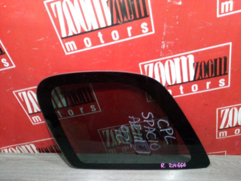 Стекло собачника Toyota Corolla Spacio AE111 4A-FE 1997 заднее правое