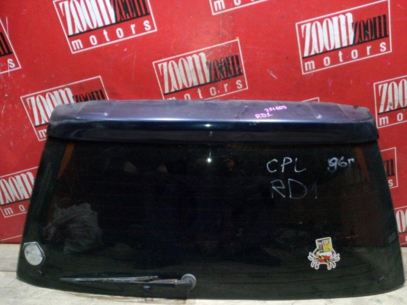 Стекло заднее Honda Cr-V RD1 B20B 1995 заднее