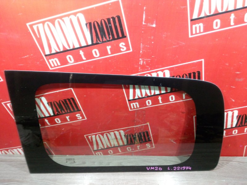 Стекло собачника Nissan Nv200 VM20 HR16DE 2009 заднее левое