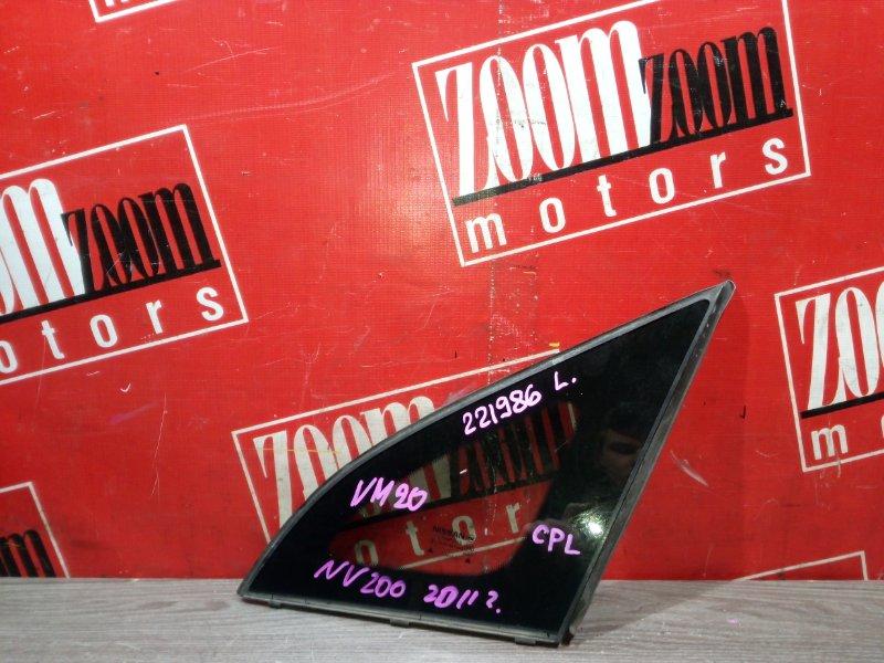 Стекло боковое Nissan Nv200 VM20 HR16DE 2009 переднее левое