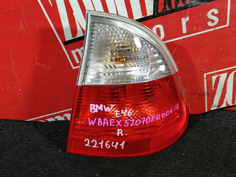 Фонарь (стоп-сигнал) Bmw 318 E46 N46 B20A 2001 задний правый