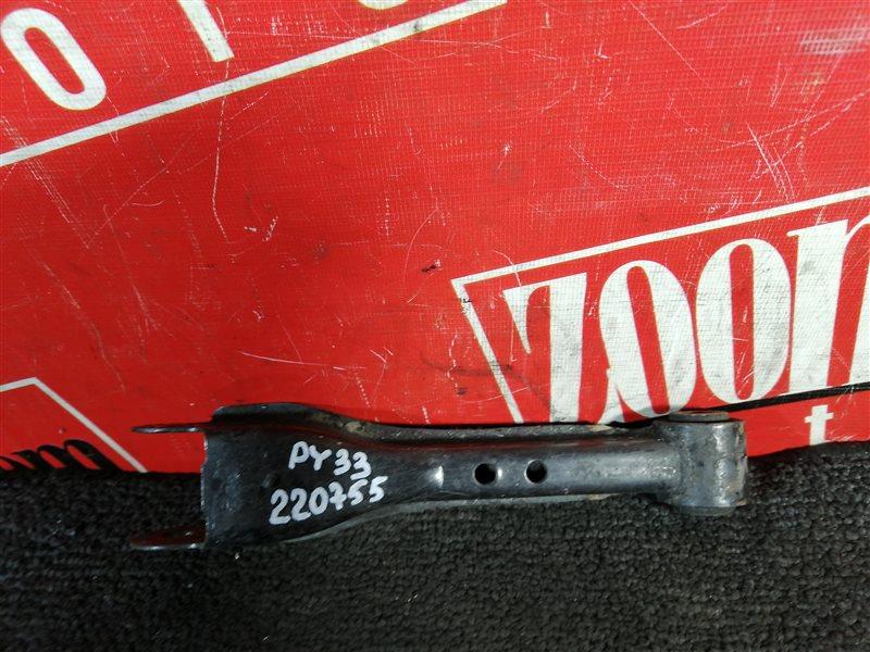 Рычаг подвески Nissan Gloria PY33 VG30E 1995 задний правый нижний