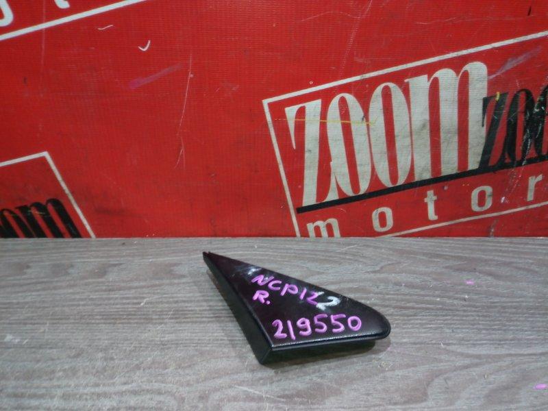 Накладка на крыло Toyota Platz NCP12 1NZ-FE 2002 передняя правая