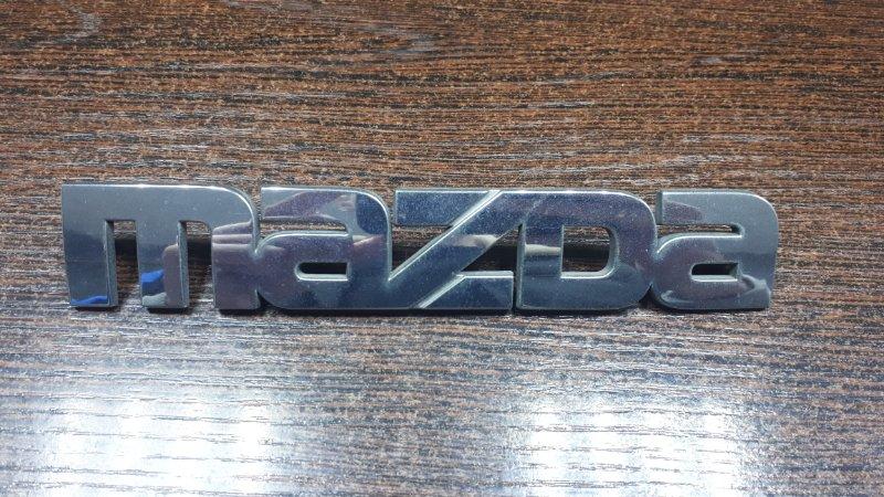 Эмблема Mazda Premacy CP8W FP-DE 1998 задняя
