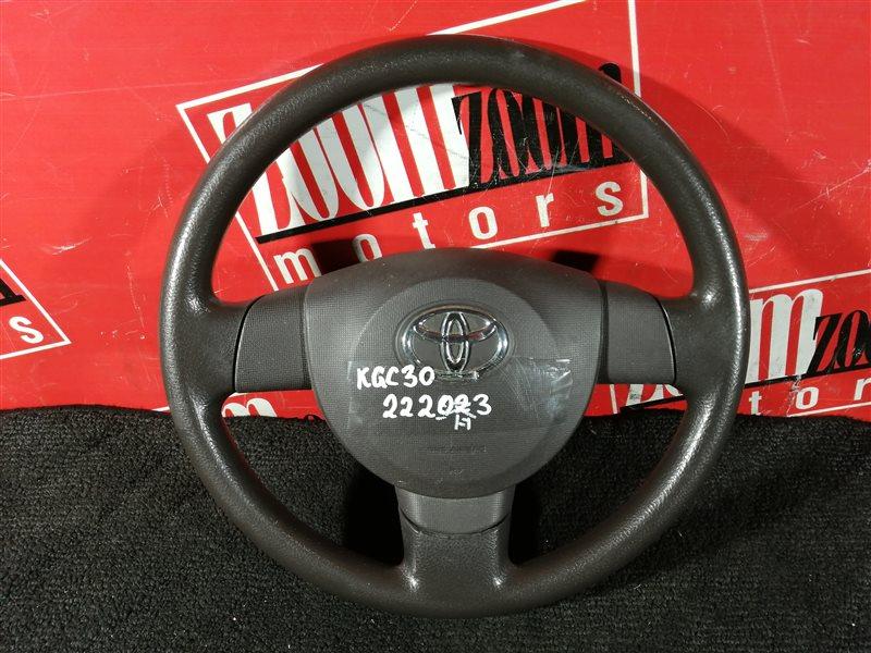 Руль Toyota Passo KGC30 1KR-FE 2010