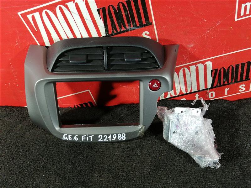 Консоль панели приборов Honda Fit GE6 L15A 2007