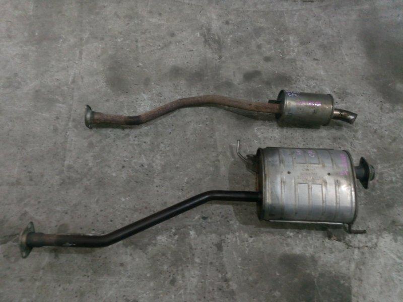 Глушитель Nissan Nv200 VM20 HR16DE 2009