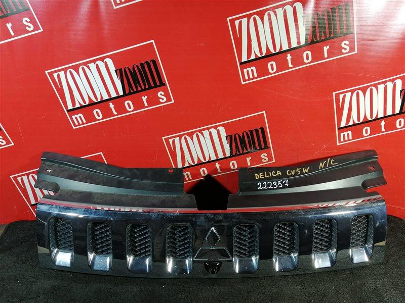 Решетка радиатора Mitsubishi Delica CV5W 4B12 2007 передняя хром