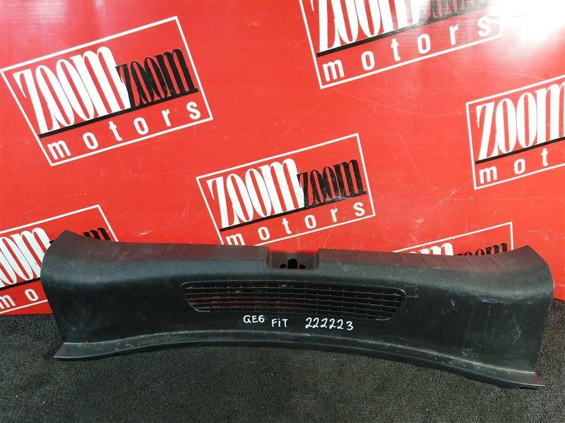 Накладка багажника Honda Fit GE6 L13A 2007 задняя черный