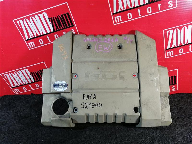 Крышка на двигатель декоративная Mitsubishi Galant EA1A 4G93 1996 передняя