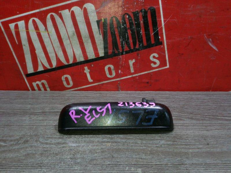 Ручка наружная Toyota Corsa EL51 4E-FE 1994 задняя левая черный