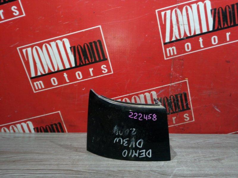Планка под фонарь Mazda Demio DY3W ZJ-VE 2002 задняя левая черный