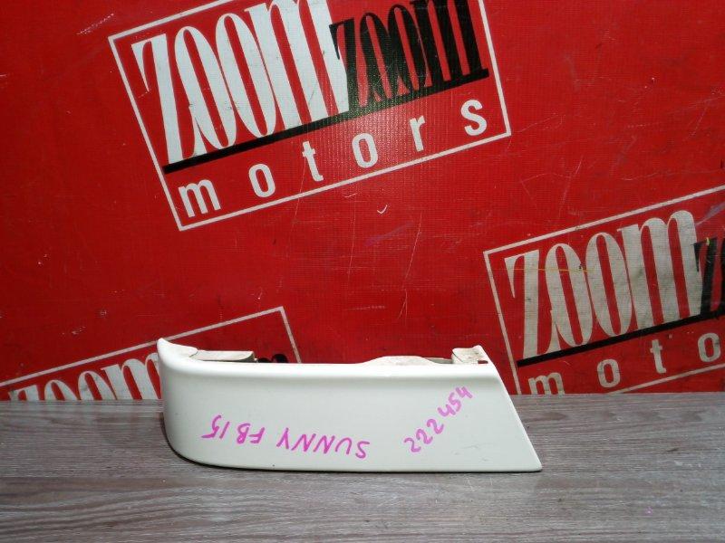 Планка под фонарь Nissan Sunny FB15 QG15DE 1999 задняя левая белый
