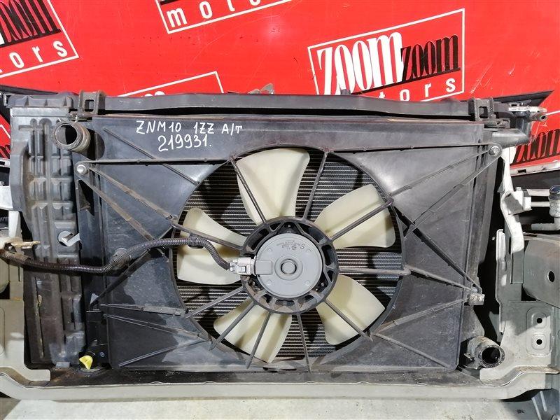Радиатор двигателя Toyota Isis ZNM10 1ZZ-FE 2004
