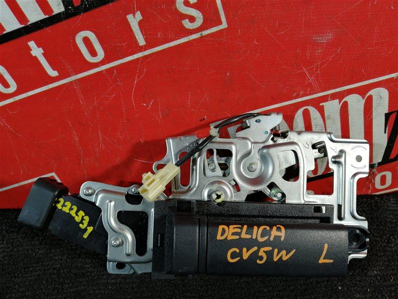 Ручка внутренняя Mitsubishi Delica CV5W 4B12 2007 задняя левая