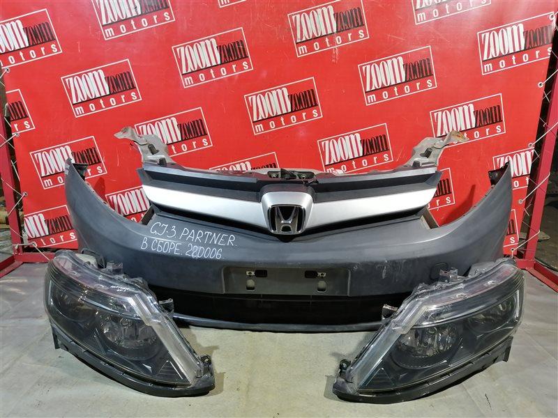 Nose cut Honda Partner GJ3 L15A 2005 передний черный
