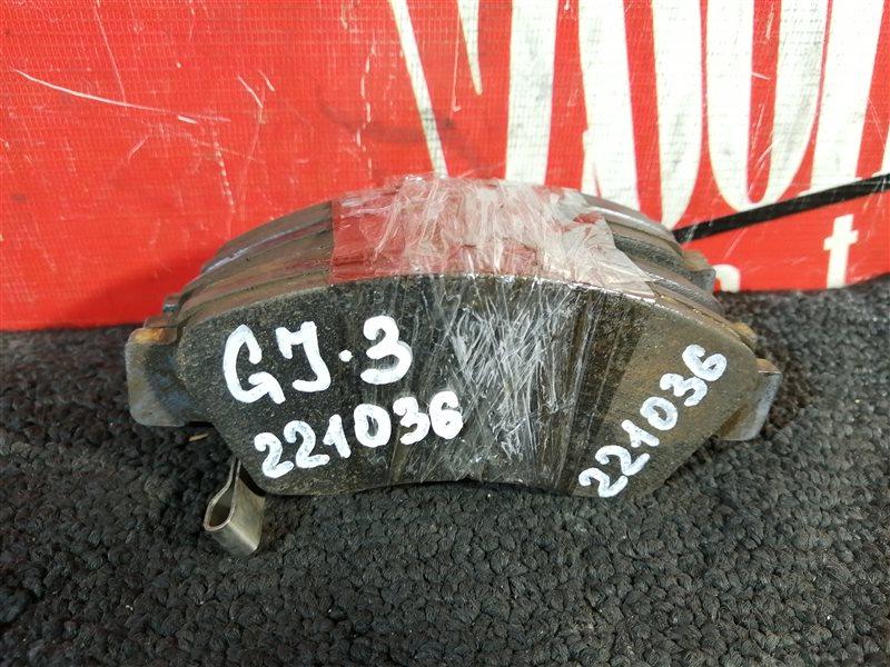 Колодки тормозные Honda Partner GJ3 L15A 2005 передние