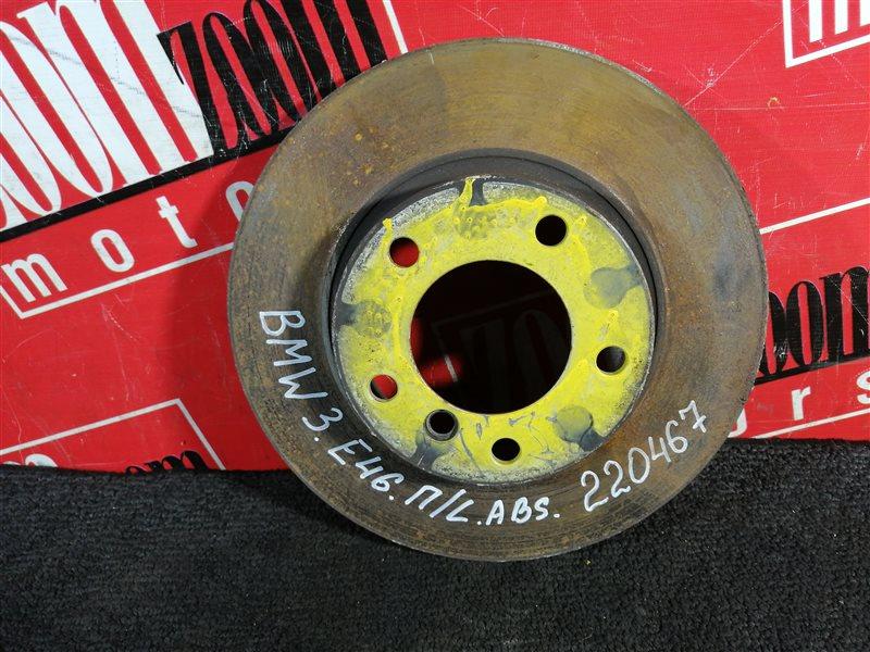 Диск тормозной Bmw 318 E46 N46 B20A 2001 передний