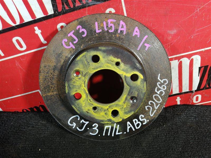 Диск тормозной Honda Partner GJ3 L15A 2005 передний