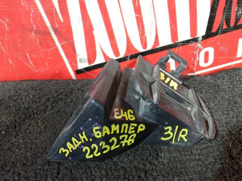 Клипса бампера Bmw 318 E46 N46 B20A 2001 задняя левая