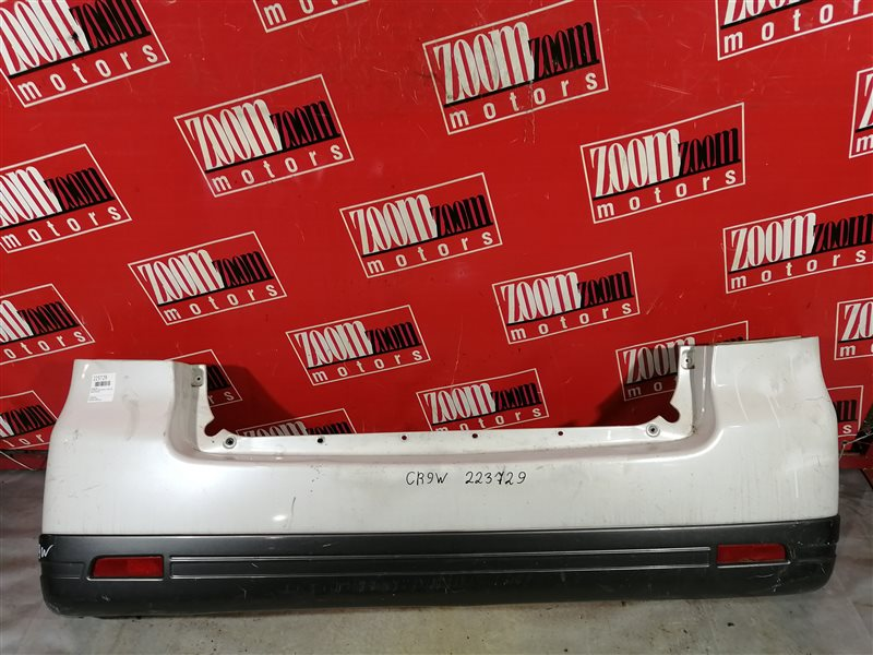 Бампер Mitsubishi Dion CR9W 4G15 2000 задний белый перламутр