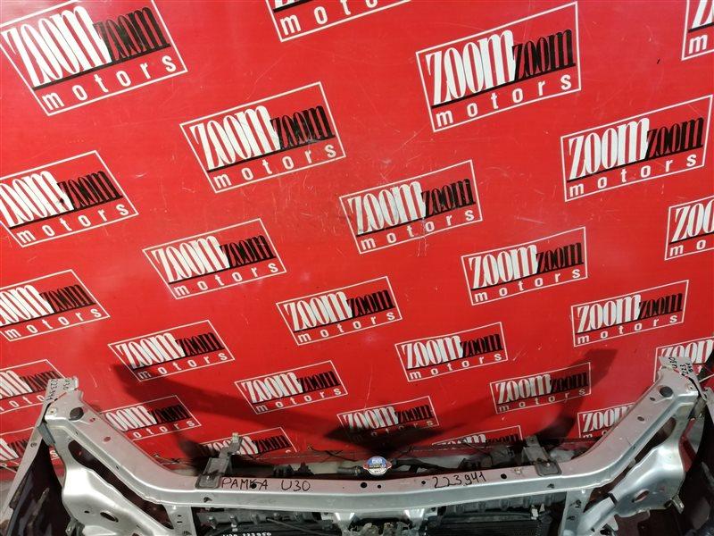 Рамка радиатора Nissan Presage U30 VQ30DE передняя серебро