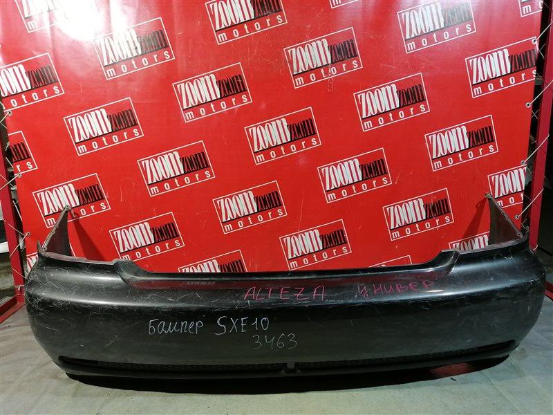 Бампер Toyota Altezza Gita SXE10 1998 задний черный