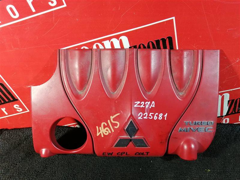 Крышка на двигатель декоративная Mitsubishi Colt Z27A 4G15T 2002