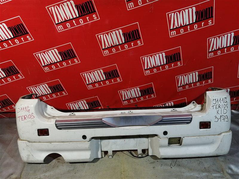 Бампер Daihatsu Terios Kid J111G 1998 задний белый
