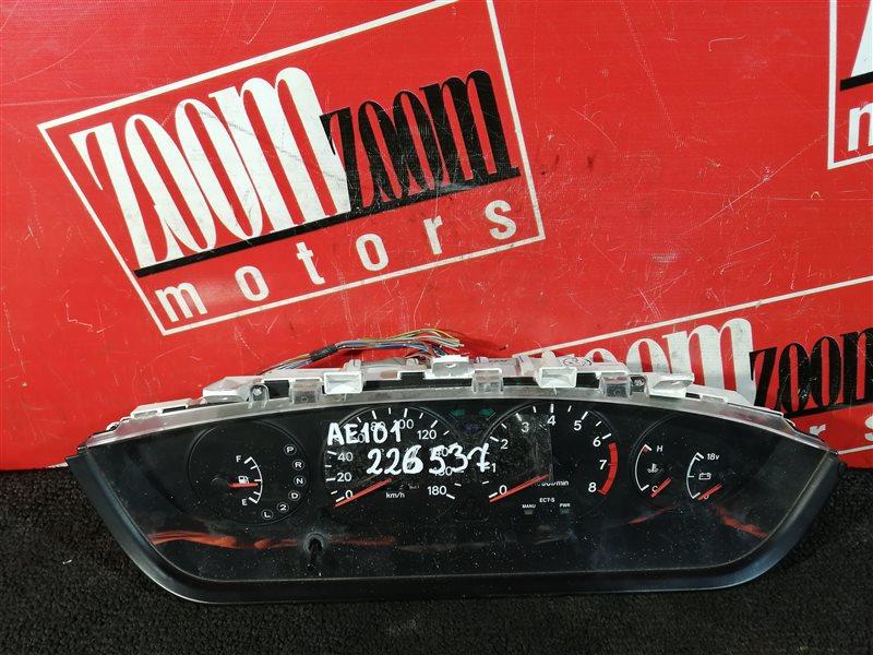 Комбинация приборов (спидометр) Toyota Corolla Ceres AE101 4A-FE 1992 83100-1E352, 82192-001