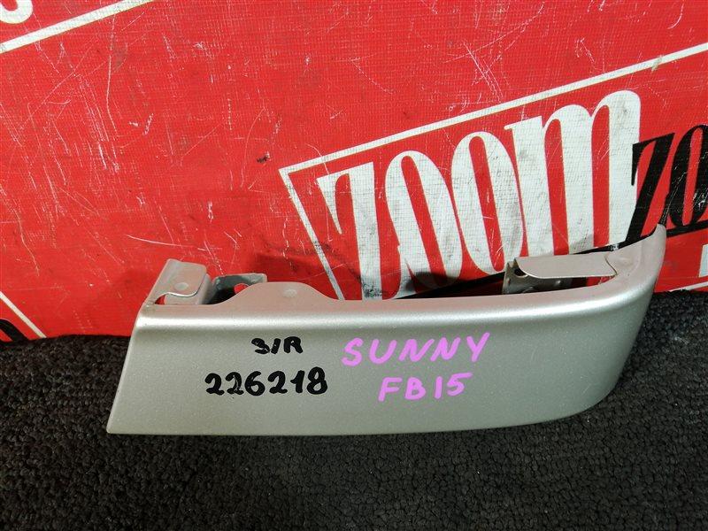 Планка под фонарь Nissan Sunny FB15 QG15DE 1999 задняя правая золото