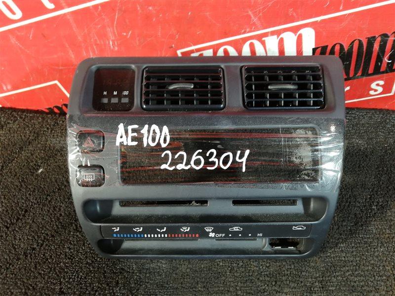 Консоль панели приборов Toyota Sprinter AE100 5A-FE 1992
