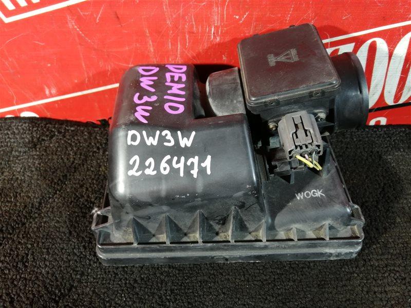 Расходомер (датчик расхода воздуха) Mazda Demio DW3W B3-E 1997