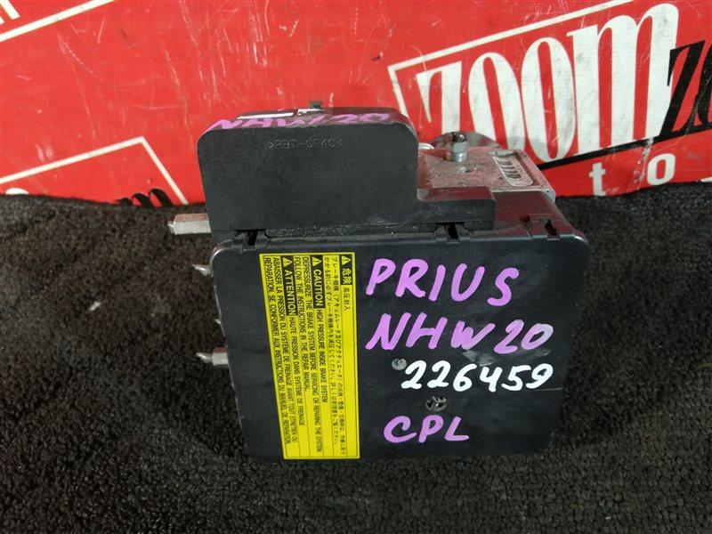 Блок abs (модулятор abs) Toyota Prius NHW20 1NZ-FXE 2003 44510-47050 PK091-208