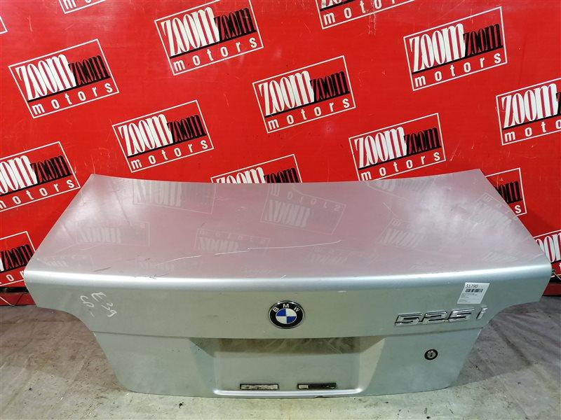Крышка багажника Bmw 525I. 525 E39 1995 задняя серебро